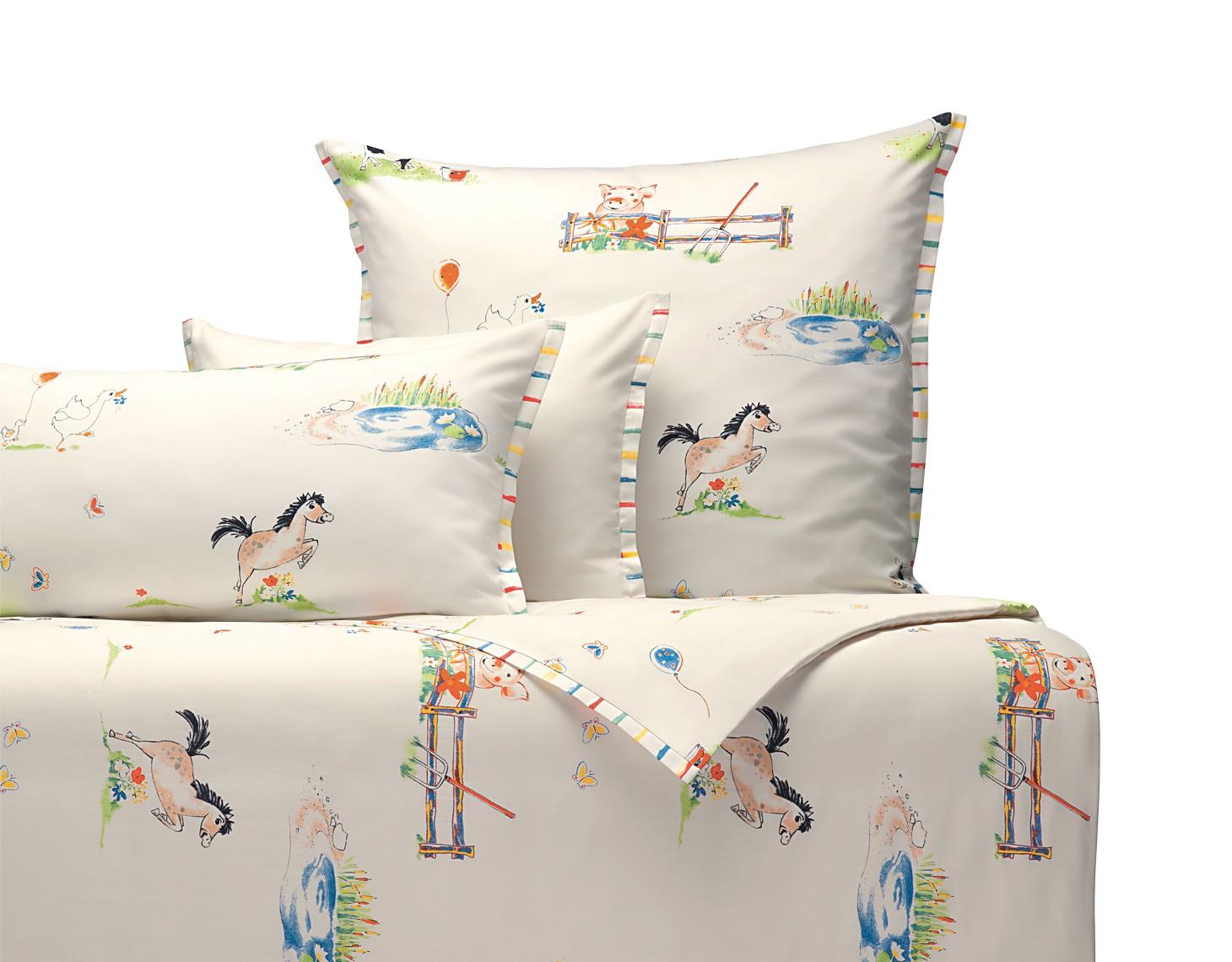 Bio Kinderbettwäsche Auf Dem Lande Vitalana Natürlich Schlafen